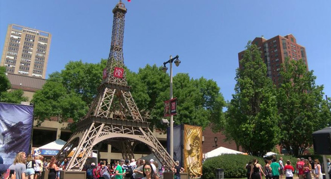 French culture - Summertime Ethnic Festivals in the City of Milwaukee